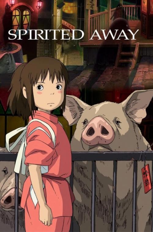Spirited Away menjadi film animasi kedua Studio Ghibli setelah My Neighbor Totoro pada tahun lalu. (Foto: Studio Ghibli)