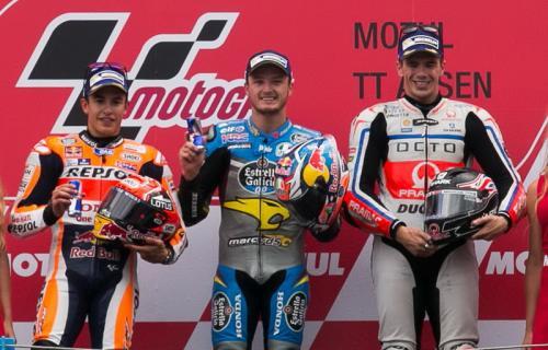 Podium MotoGP Belanda 2016
