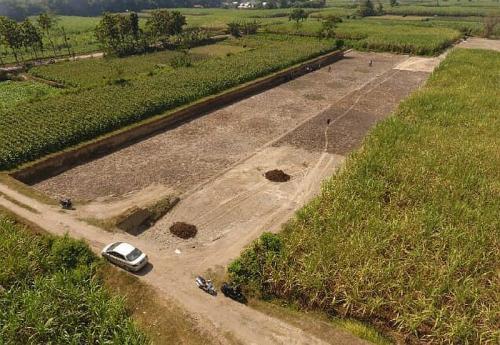Situs bangunan kuno yang diduga peninggalan kerajaan Majapahit ditemukan di Jombang