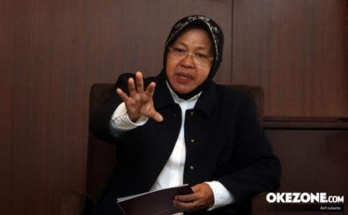 Wali Kota Surabaya Tri Rismaharini (foto: Okezone)