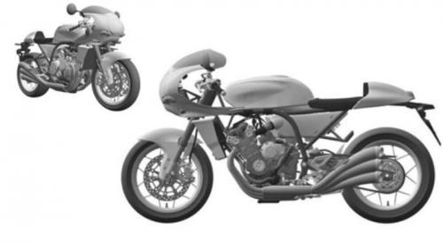 Honda patenkan motor klasik terbarunya