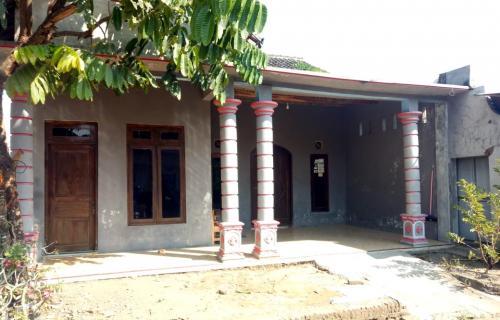 Rumah Pelaku Pembunuhan di Sukoharjo