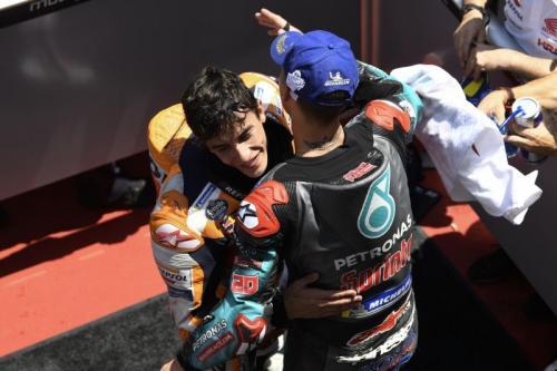 Fabio Quartararo kurang puas belum pernah menang lawan Marc Marquez