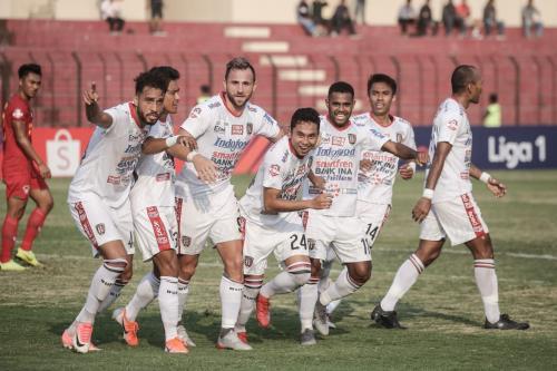 Bali United menjadi pemuncak klasemen sementara Liga 1 2019