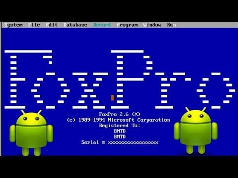 Foxpro merupakan software jadul