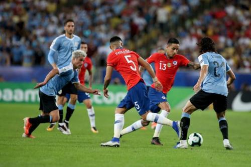 Timnas Uruguay harus kerja keras menaklukkan Cile