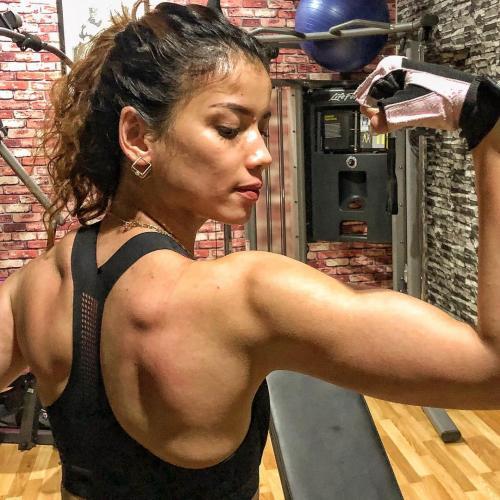 Sabrina Chairunnisa olahraga