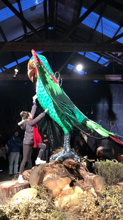 Patung burung