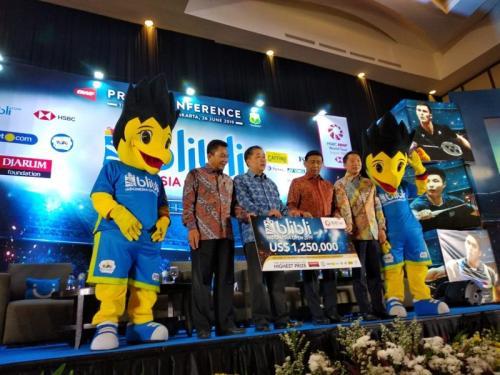 Indonesia Open 2019 (Foto: Hendry Kurniawan/Okezone)