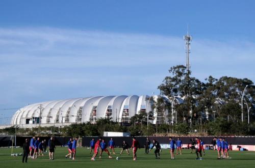 Persiapan Timnas Paraguay untuk hadapi Brasil