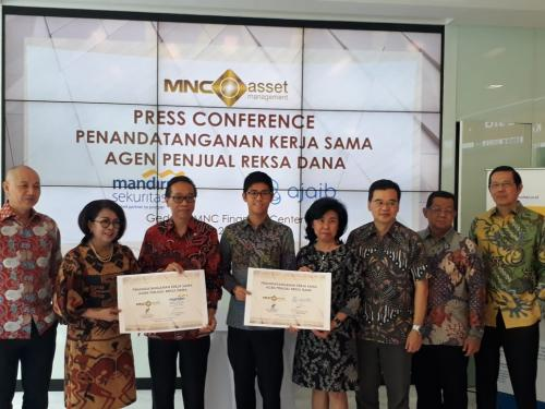 Kerjasama MNC Asset dengan Mandiri Sekuritas dan Ajaib
