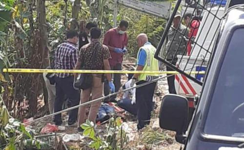 Mayat Wanita ditemukan di selokan Bekasi