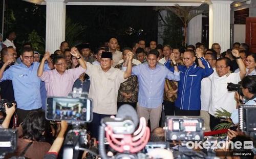 Prabowo-Sandi dan koalisi