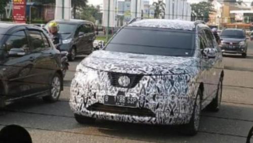 Nissan Xtrail lakukan uji jalan