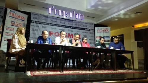 Diskusi polemik MNC Trijaya Network bertajuk Peta Politik Pasca Putusan MK (foto: Fadel/Okezone)