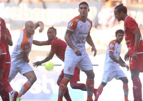 Borneo FC gagal membawa pulang hasil imbang dari markas Persija Jakarta (Foto: Borneo FC/Twitter)