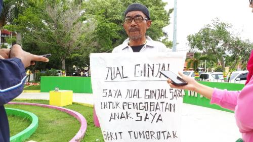 Jual Ginjal Demi Anak di Riau