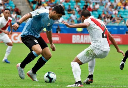 Laga Timnas Uruguay vs Peru