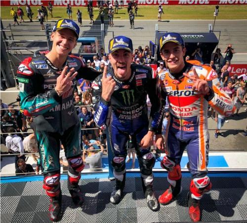 Image result for Finis Kedua di Assen Bagai Kemenangan untuk Marquez