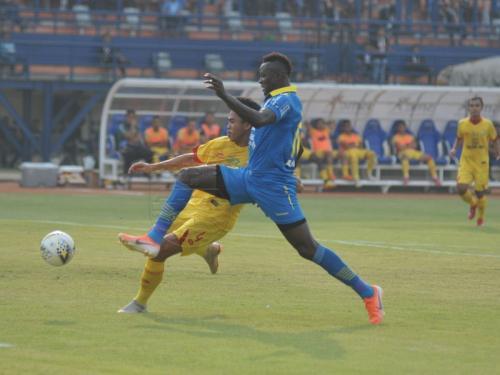 Persib vs Bhayangkara FC akhir pekan lalu