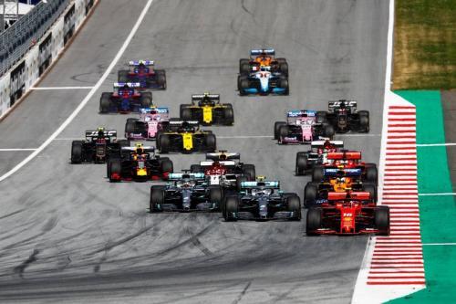 Para pembalap F1 tampil di musim 2019