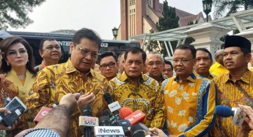 Ketum Partai Golkar Airlangga Hartarto