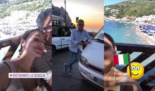 David Foster memboyong Katharine McPhee bulan madu ke Italia, tempat di mana dia melamarnya pada 2017. (Foto: Instagram)