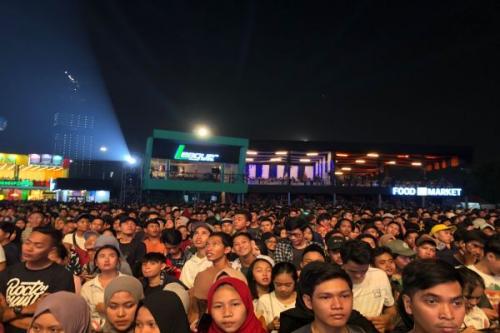 Lautan Manusia di Jakarta Fair Kemayoran 2019