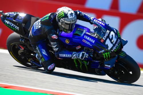 Penampilan Maverick Vinales di MotoGP 2019