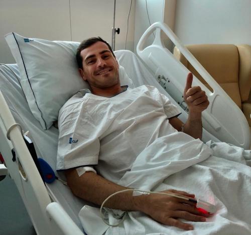 Iker Casillas (Foto: Twitter Porto)