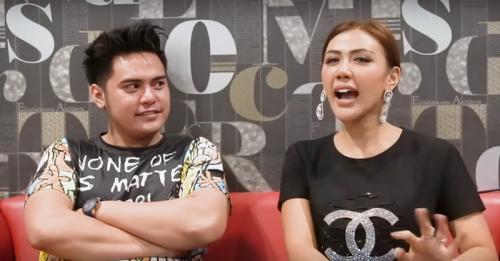 Galih Ginanjar mengaku, merasakan firasat tak enak tentang video ikan asin. (Foto: YouTube/Rey Utami & Benua)