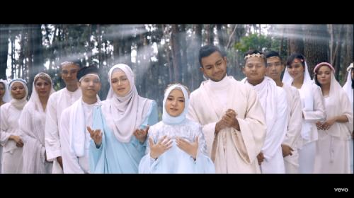 Siti Nurhaliza dan Nissa Sabyan