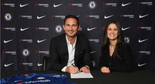 Frank Lampard resmi menjadi pelatih baru Chelsea