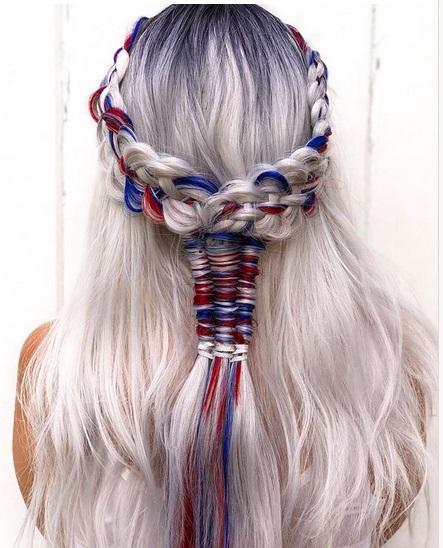 Kepang rambut viral