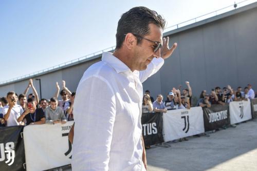 Gianluigi Buffon (Foto: Twitter/@juventusfcen)