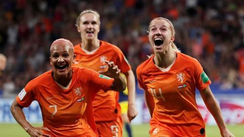 Kalahkan Swedia, Belanda ke final Piala Dunia Wanita 2019