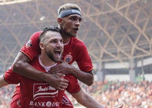 Marko Simic dan Bruno Matos (Foto: Media Persija)