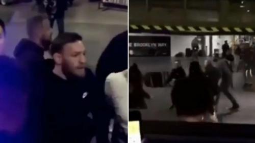 Conor McGregor pernah melempari bus Tim Khabib (Foto: Russia Today)