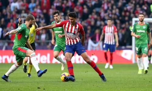 Rodrigo memiliki tipe permainan yang disukai Pep Guardiola (Foto: Laman resmi Atletico Madrid)