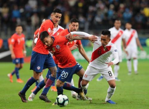 Timnas Peru berhasil mengalahkan Cile (Foto: Seleccion Peru/Twitter)
