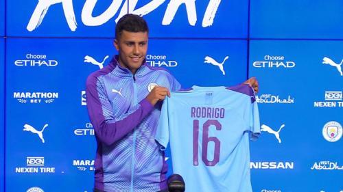 Rodrigo resmi menjadi pemain baru Man City