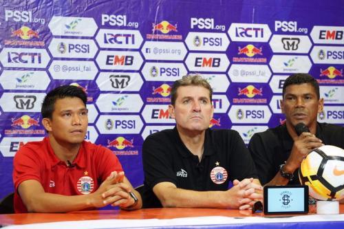 Julio Banuelos pastikan Persija tampil optimal saat bersua Borneo FC