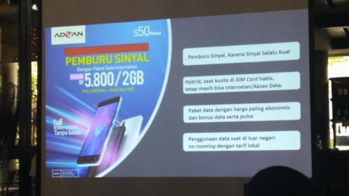 Advan, produsen perangkat mobile bekerjasama dengan Shopee untuk program Super Brand Day.