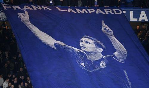 Lampard sewaktu menjadi pemain Chelsea