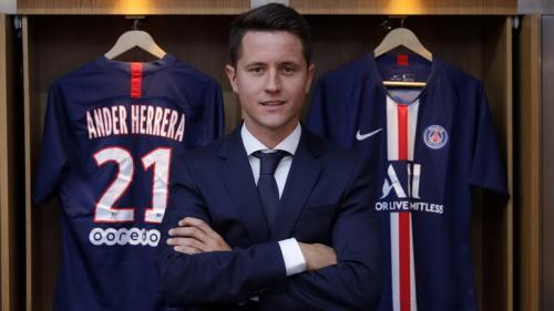 Ander Herrera resmi merapat ke PSG