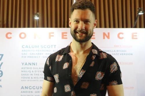 Calum Scott di Prambanan Jazz Festival