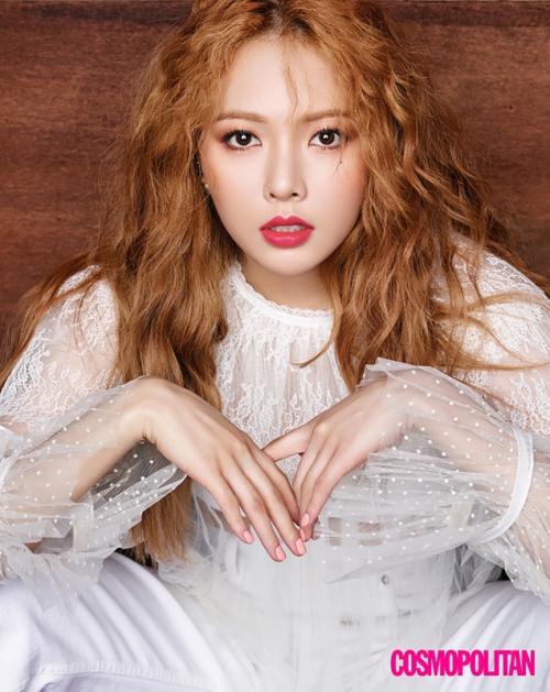 Hyuna. (Foto: Cosmopolitan)