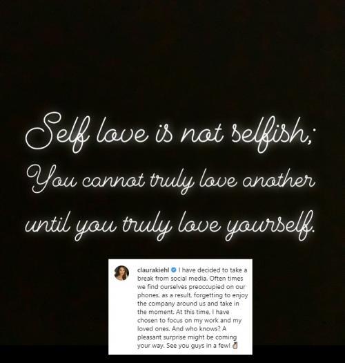 Sebulan setelah foto dan video syurnya tersebar, Cinta Laura putuskan rehat dari medsos. (Foto: Instagram)