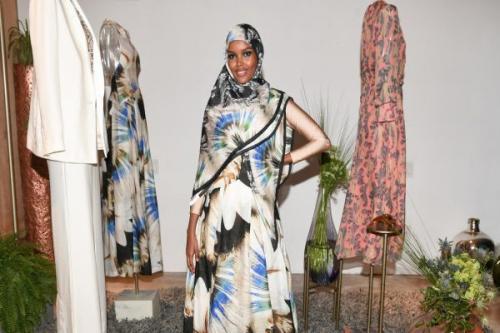 Model muslim asal Afrika ini bermetamorfosa menjadi supermodel dunia