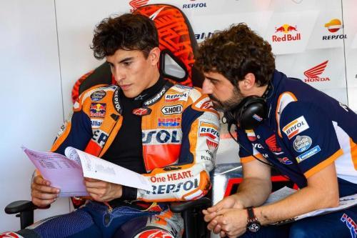 Pembalap Repsol Honda, Marc Marquez